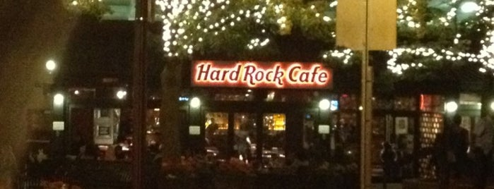 Hard Rock Cafe Boston is one of Arthur's Main list of things to do..