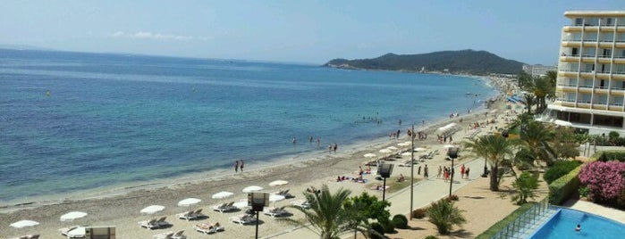 Platja d'En Bossa is one of Ibiza 2013.