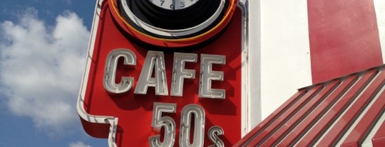 Cafe 50's is one of KCRW.