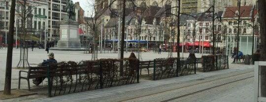 Groenplaats is one of 80 must see places in Antwerp.