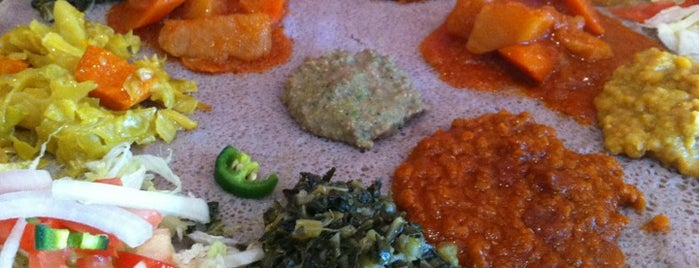 Etete Ethiopian Cuisine is one of Stuartさんの保存済みスポット.