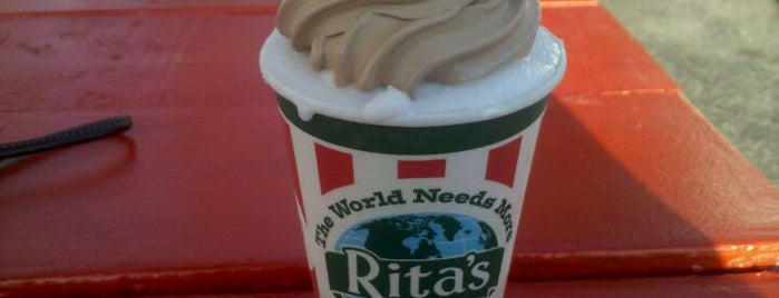 Rita's Italian Ice is one of Lieux qui ont plu à Mike.