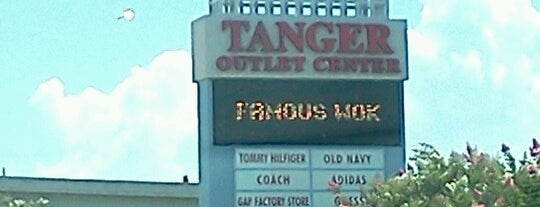 Tanger Outlets Myrtle Beach Hwy 501 is one of Tempat yang Disukai Michael.