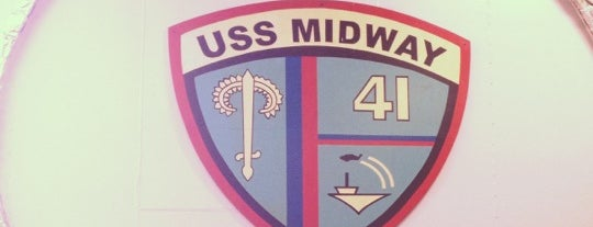 USS Midway Museum is one of Tempat yang Disukai Eric.