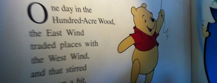 The Many Adventures of Winnie the Pooh is one of Walt Disney World.