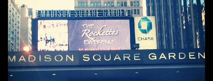 Madison Square Garden is one of NY To Do.
