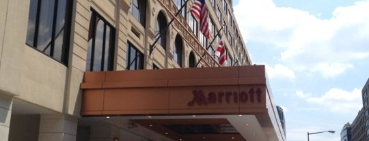 Washington Marriott Georgetown is one of DC to-do.