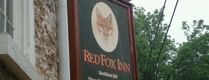 The Red Fox Inn & Tavern is one of Dog Friendly Restaurants & Bars.