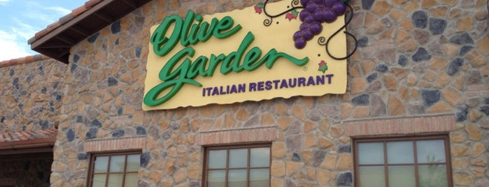 Olive Garden is one of Local.