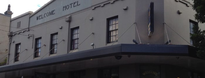 Welcome Hotel is one of Sydney food&drink.