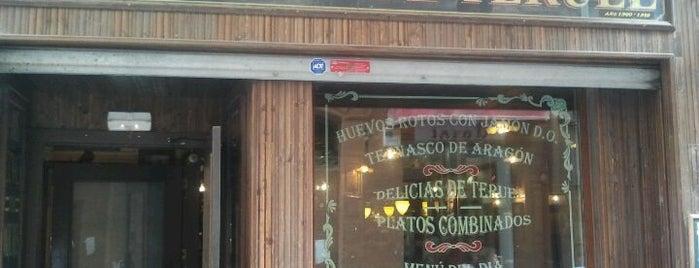 Gran Café de Teruel is one of mis sitios.