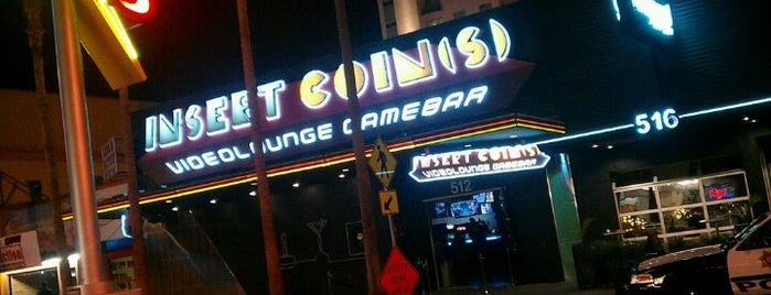 Insert Coin(s) is one of Video Game & Gamer Bars.
