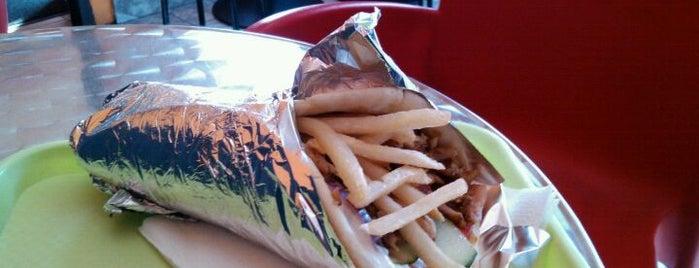 Mc Giros is one of Fast food tzv. has sa trafike.