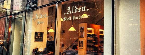 Alden Shoes is one of A Continuous Lean's Menswear Shopping Guide 2012.