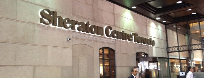 Sheraton Centre Toronto Hotel is one of Bouchercon exploring.