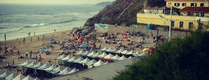 Praia da Areia Branca is one of Tempat yang Disukai Joao.
