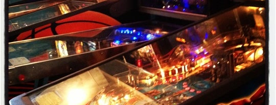 The Pinball Cafe is one of The Toronto Geek Trail.