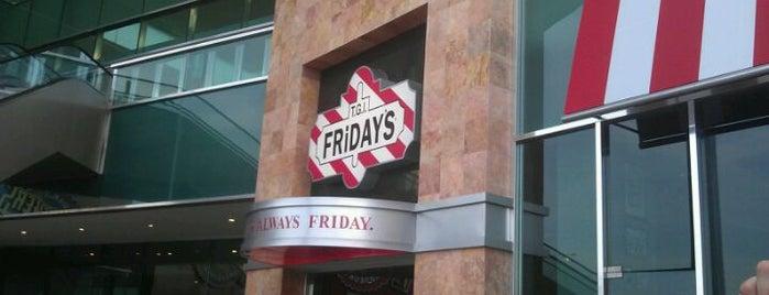 TGI Friday's is one of Elva 님이 좋아한 장소.