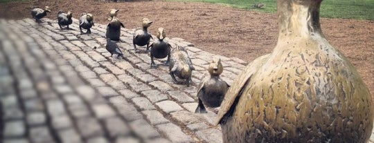 Make Way For Ducklings is one of #BeRevered: Best of Back Bay.