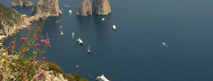 Monte Solaro is one of Capri.
