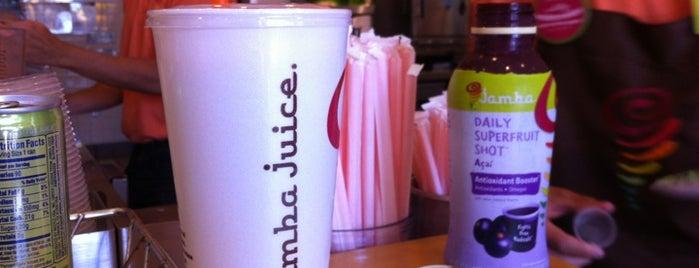 Jamba Juice is one of Orte, die Steve gefallen.