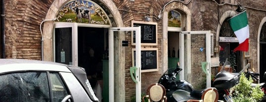 Hosteria La Vacca 'Mbriaca is one of Rome.