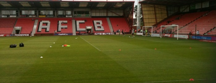Vitality Stadium is one of Stadiums I've watched sport at.