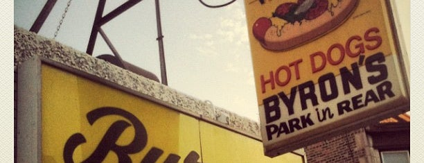 Byron's Hot Dog Haus is one of Chicago Noms.