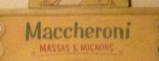 Maccheroni Massas & Mignons is one of Jantar.
