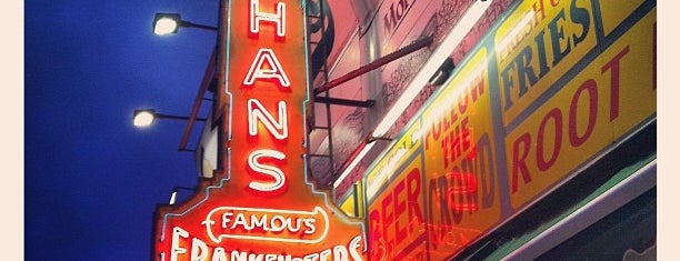 Nathan's Famous is one of NY Region Old-Timey Bars, Cafes, and Restaurants.