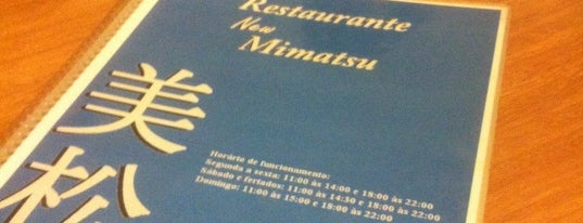 Restaurante New Mimatsu is one of Liberdade.