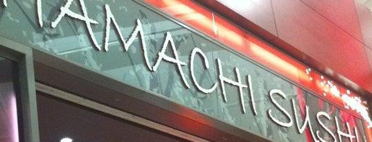 Hamachi Sushi is one of EWR Terminal C.