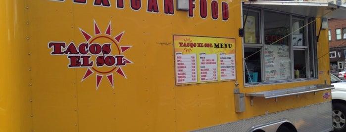 Tacos El Sol Taco Truck is one of PNW.