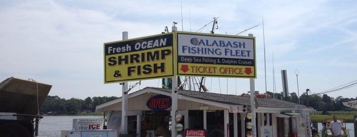 Calabash Fishing Fleet is one of Lugares favoritos de Roger.