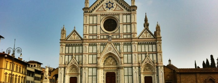 Piazza Santa Croce is one of Firenze (Florence).