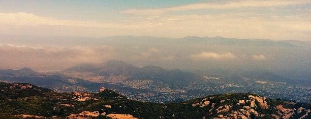 Sandstone Peak is one of LA Places.