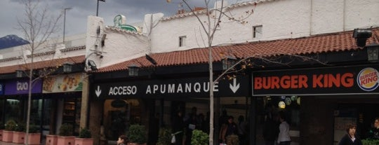 Apumanque is one of Shopping.