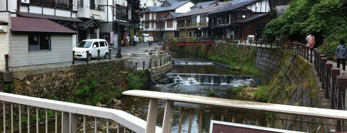 しろがねはし is one of 銀山温泉.