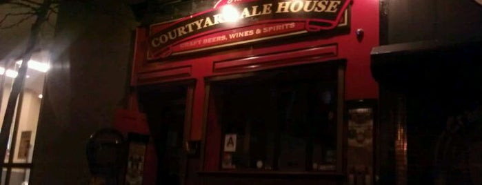 The Courtyard Ale House is one of Must-See Sunnyside.