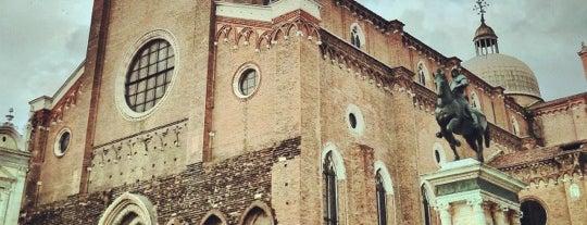Basilica dei Santi Giovanni e Paolo is one of Venice.