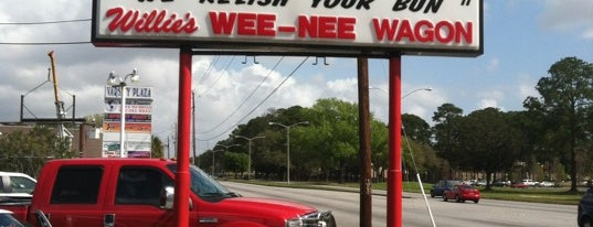 Willie's Wee-Nee Wagon is one of America's Best Hot Dog Joints.