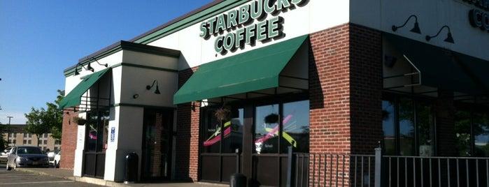 Starbucks is one of Orte, die Kirk gefallen.