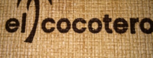 El Cocotero is one of Food.