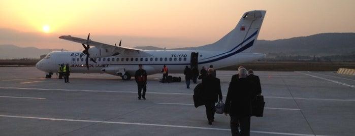 Çanakkale Havalimanı (CKZ) is one of Türkiye'deki Havalimanları.