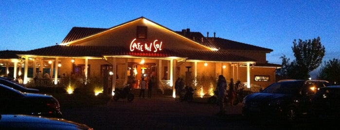 Cafe del Sol is one of Posti che sono piaciuti a Hikmet.