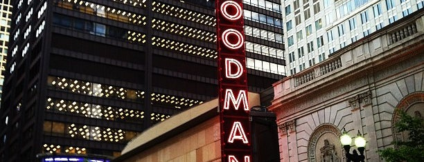 Goodman Theatre is one of Downtown Chicago Theatres.