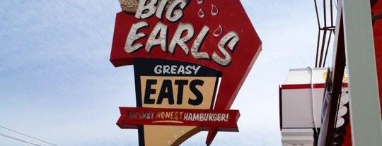 Big Earl's Greasy Eats is one of Tempat yang Disimpan Kris.