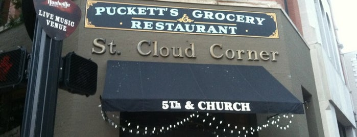 Puckett's Grocery & Restaurant is one of Locais curtidos por Sarah.
