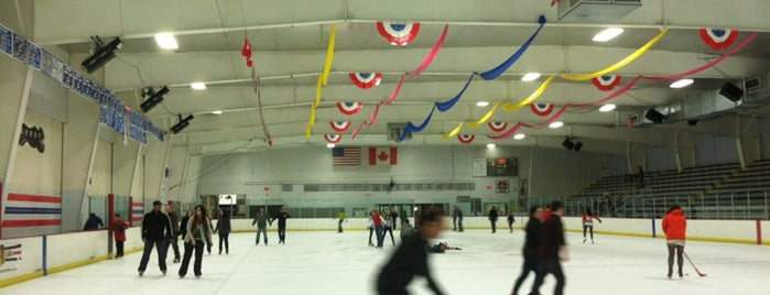 Park District of Franklin Park Ice Arena is one of Chicago Rat Hockey.