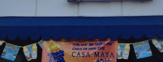 Casa Maya Grill is one of Lugares guardados de Edison.